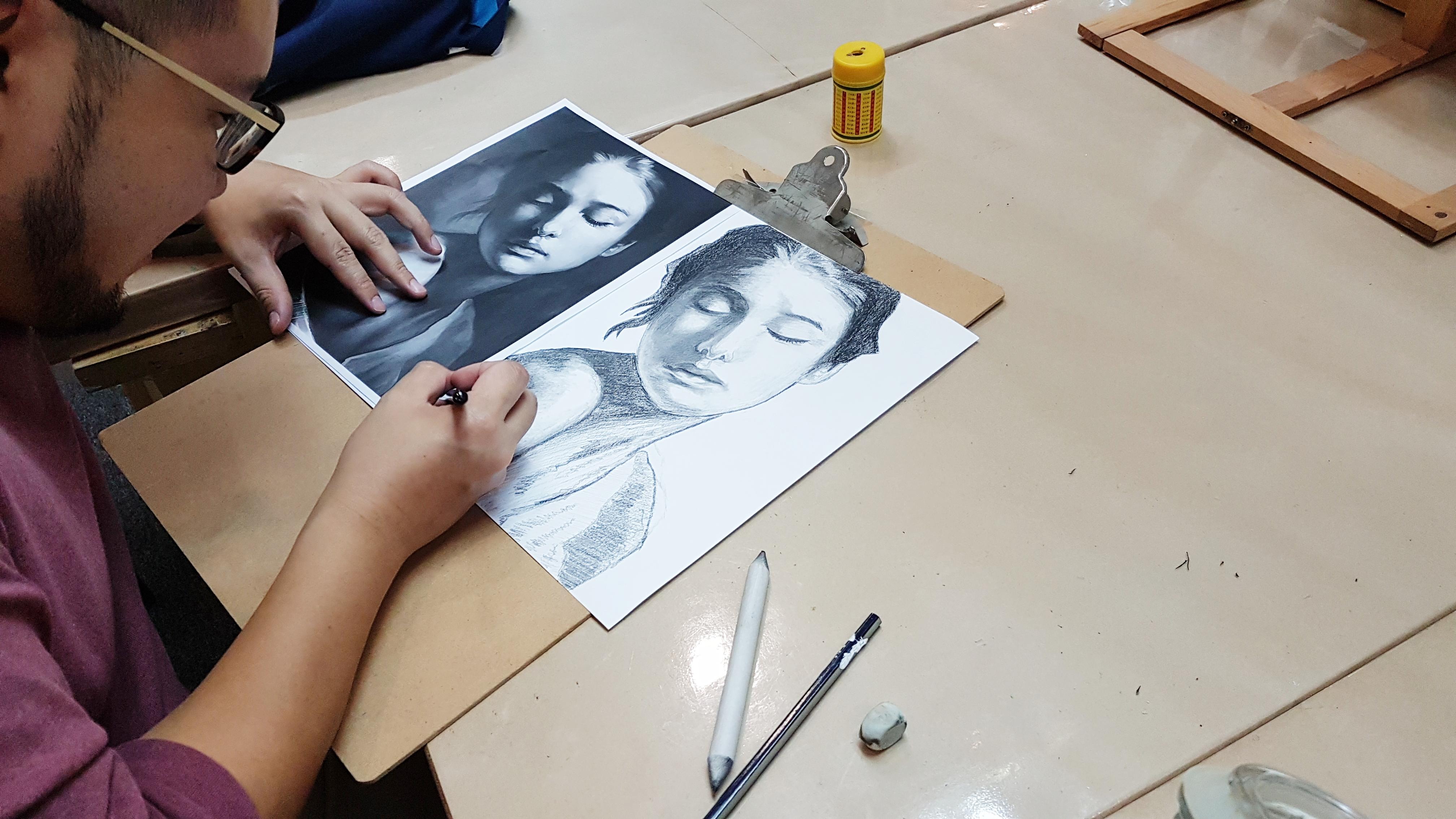 Art Portfolio Lessons