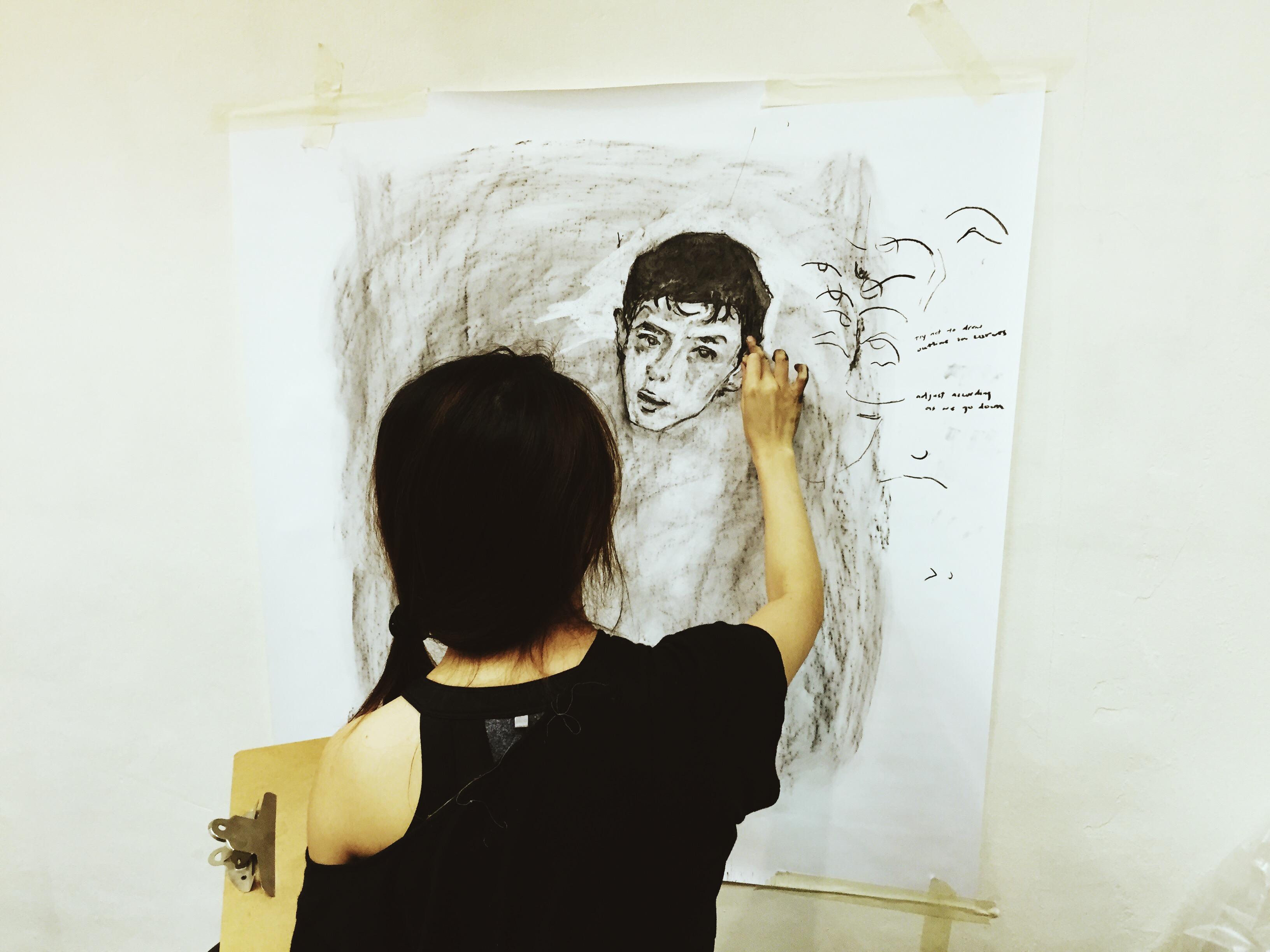 Art Class Singapore (sketching)