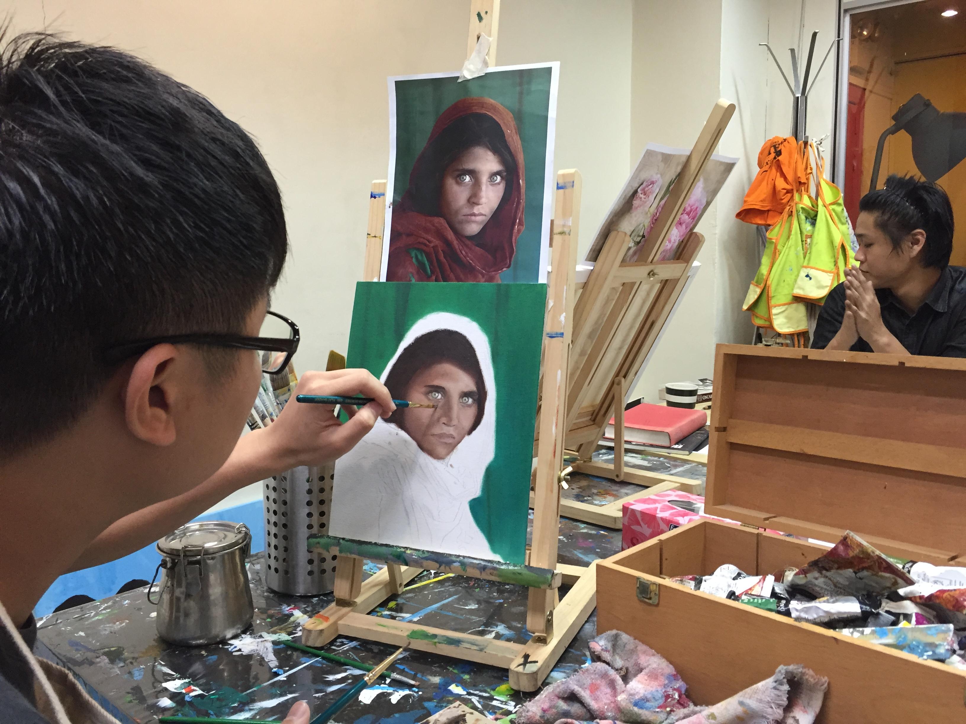 Famous Art Class Singapore