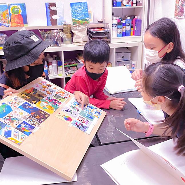 Best Art Classes for Children in SIngapo