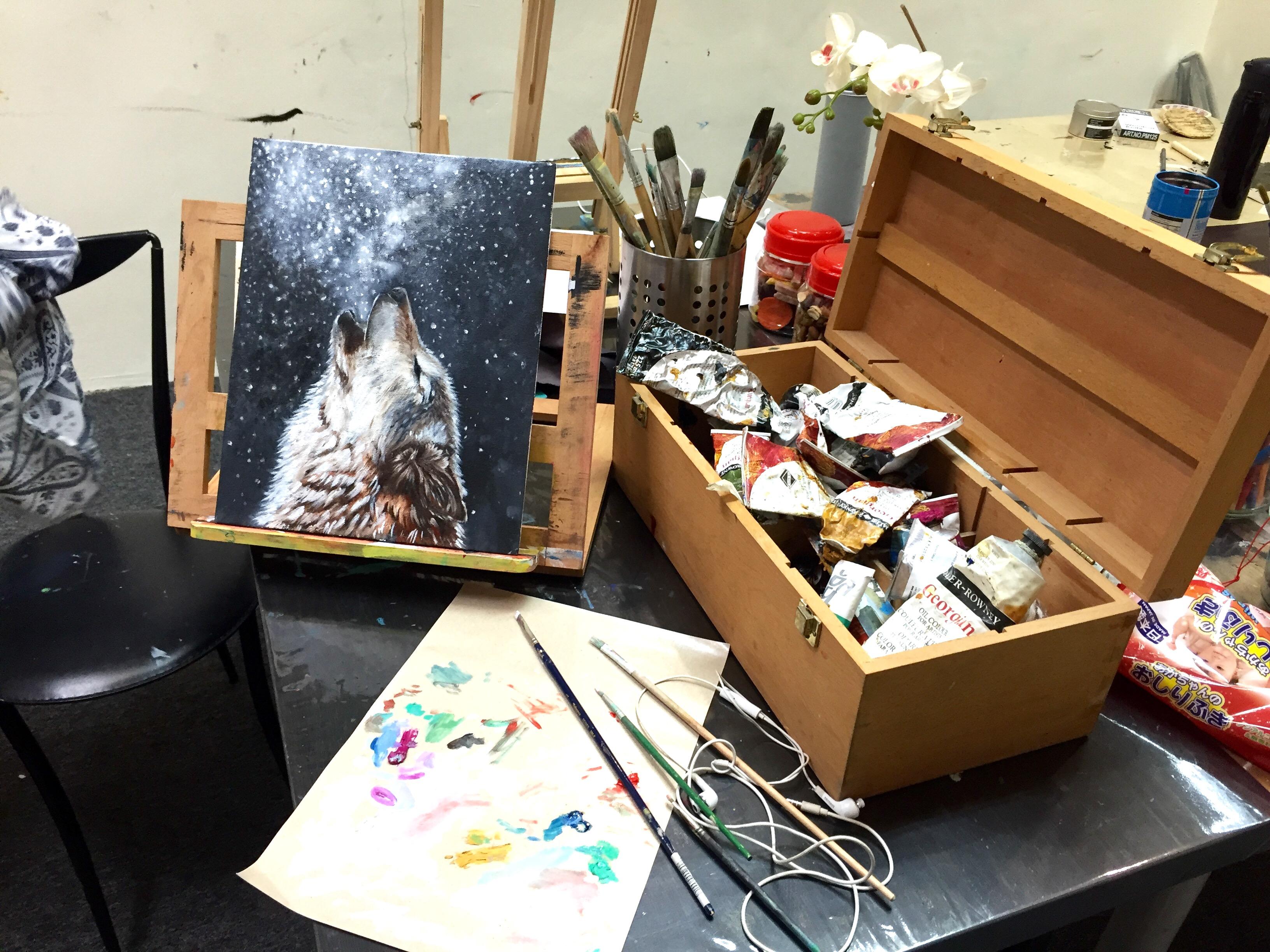 Art Class Singapore (oil painting 2)