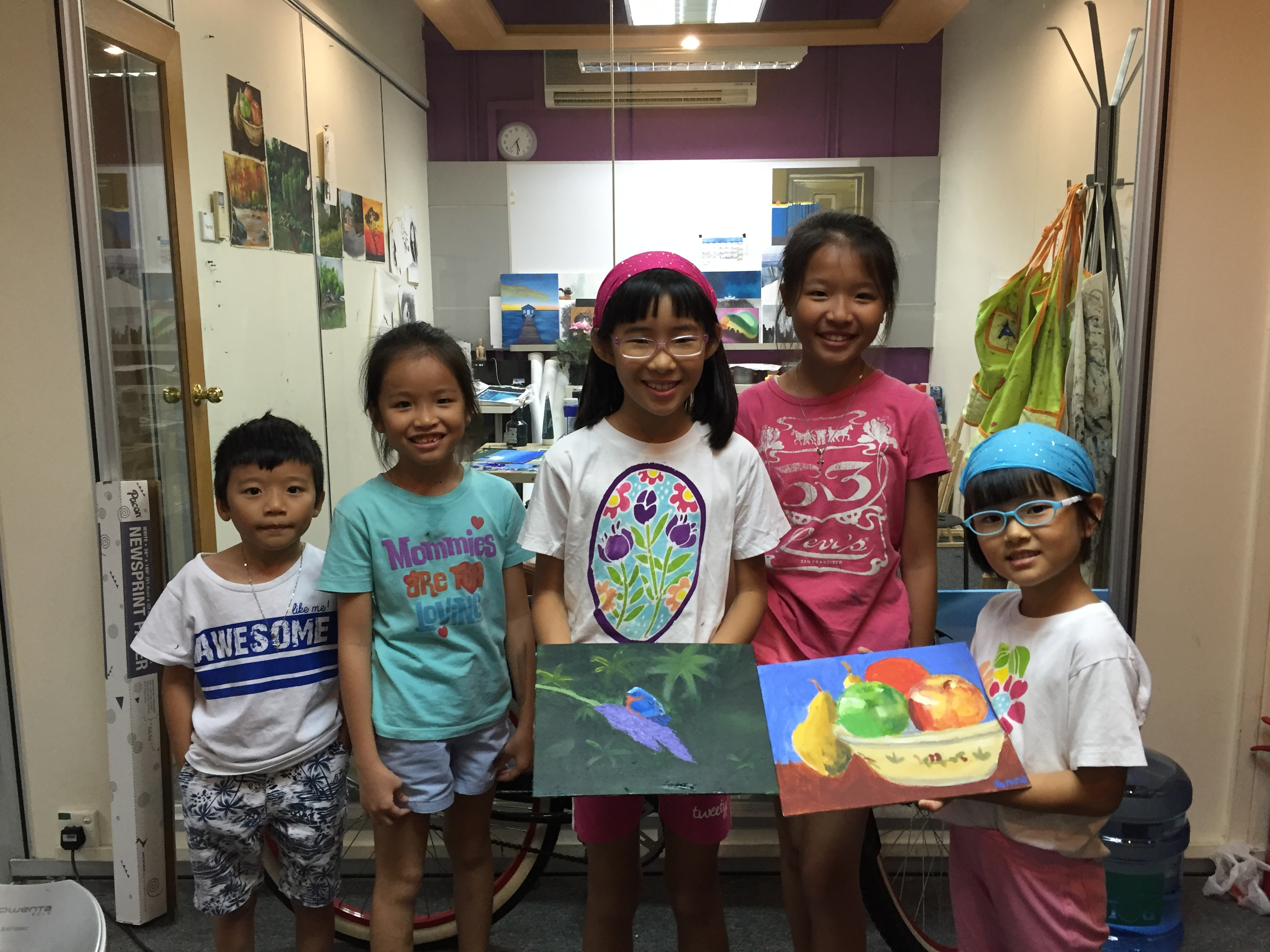 Group Children Art Classes Singapore