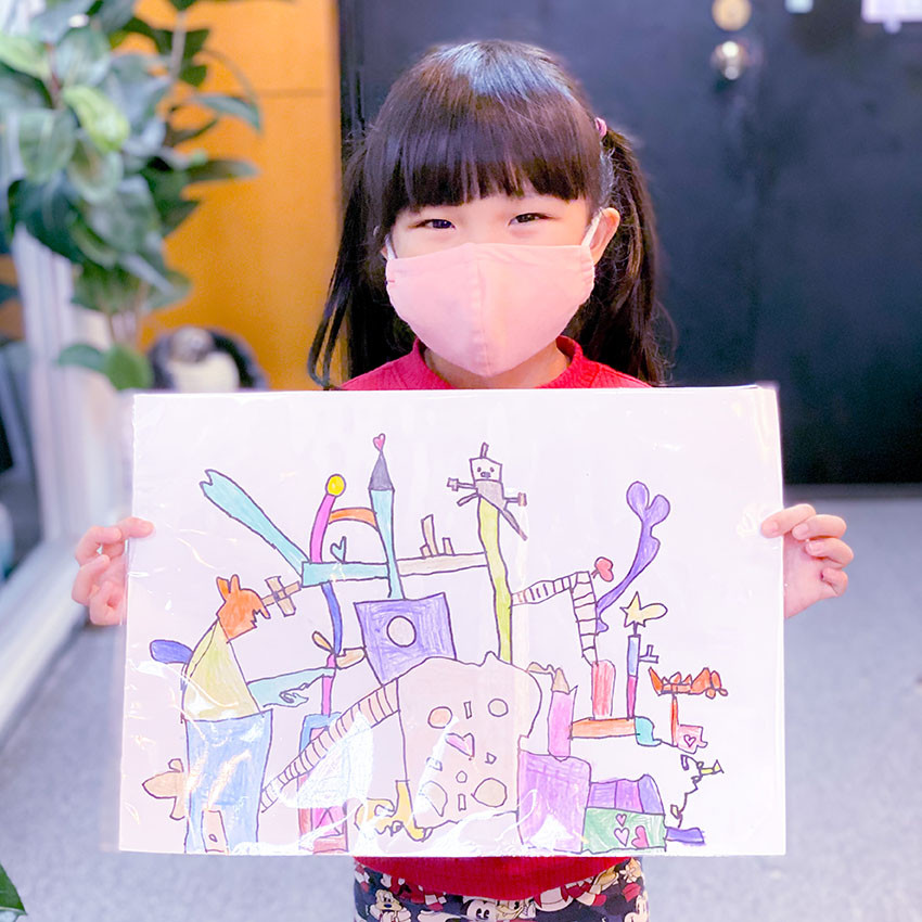 Best Drawing Classes for Children in Sin