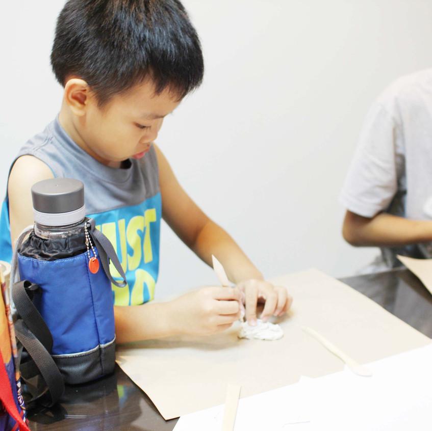 Animal Clay Badge + Magnet Workshop