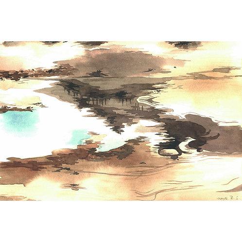 Aquarela Deserto