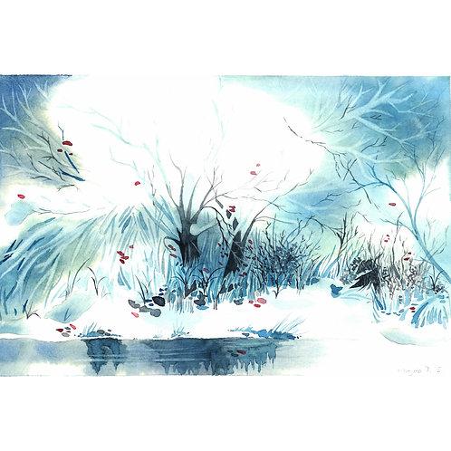 Aquarela Neve