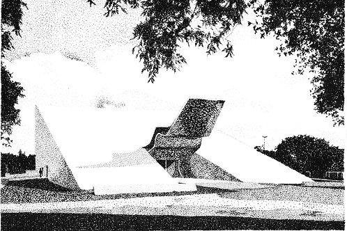 Desenho Pontilhismo Ibirapuera