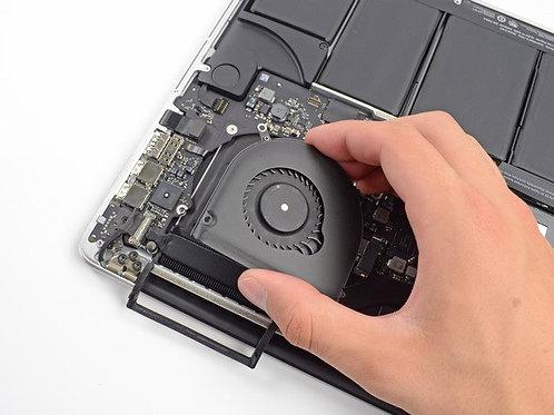 Changement Ventilateur Mac Book Pro Retina