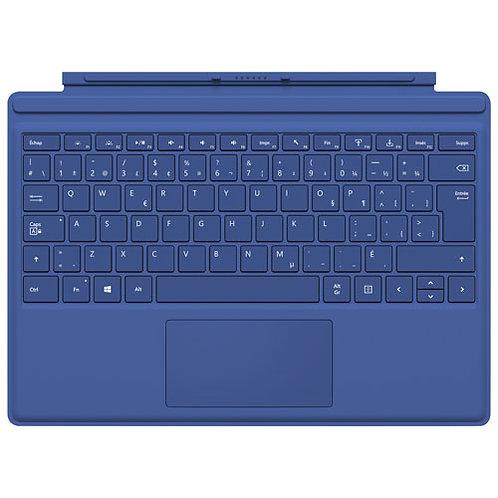 Clavier Microsoft AZERTY pour Surface Pro Bleu Marine