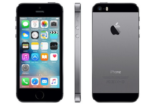 Apple iPhone 5s 32GB gris Sidéral