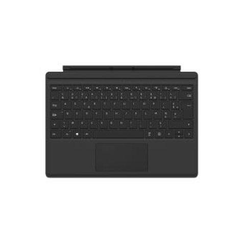 Clavier Microsoft AZERTY pour Surface Pro 4 Noir
