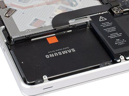 Changement Disque dur SSD 500 GO MacBook Pro
