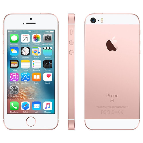 iPhone SE 128Go Or Rose