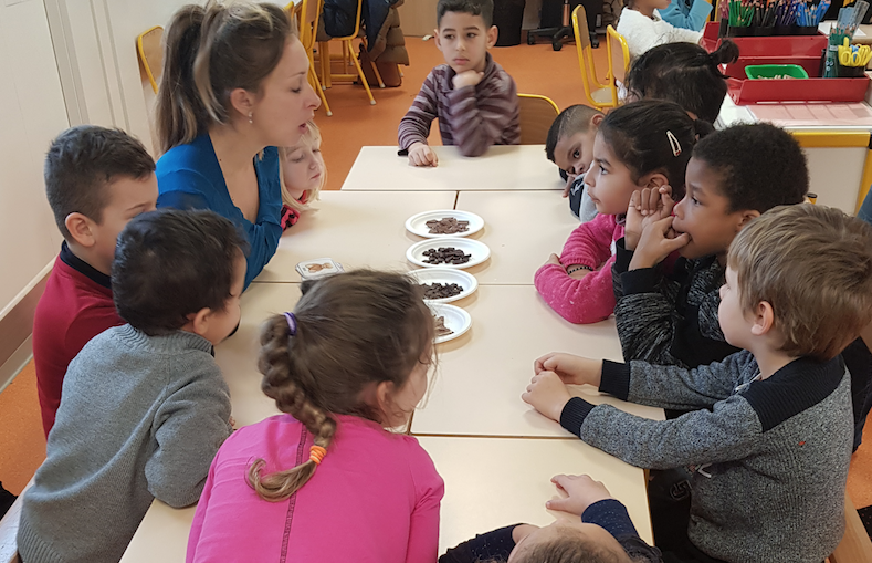 Atelier sensoriel dès la maternelle