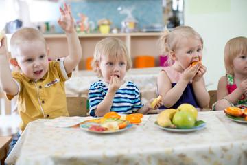 Atelier nutrition en crèche