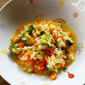 Des plats de riz pour petits (mais pas que!)