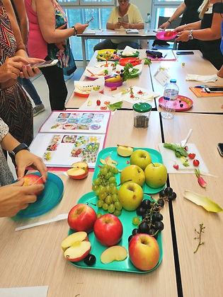 Formation accueil repas scolaire nutriti