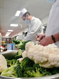 Formation cuisine végétarienne scolaire.