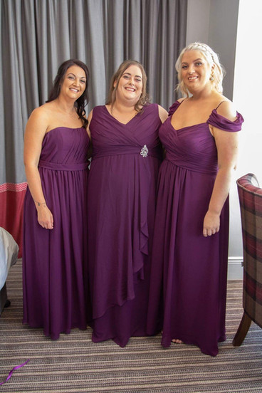 Bridesmaids dresses alteration
