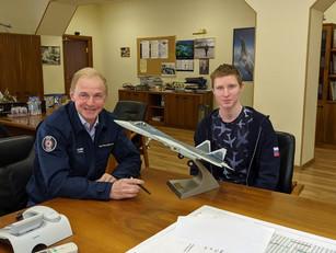 Ученик «ИТШ № 777» побывал в Опытно-конструкторском бюро имени А. Люльки