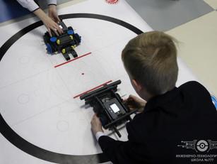 Соревнования по робототехнике «Самый сильный робот»