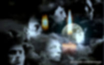 фотоколлаж поэтов Серебряного века: Маяковский, Мандельштам, Блок, Ахматова, Цветаева, Пастернак