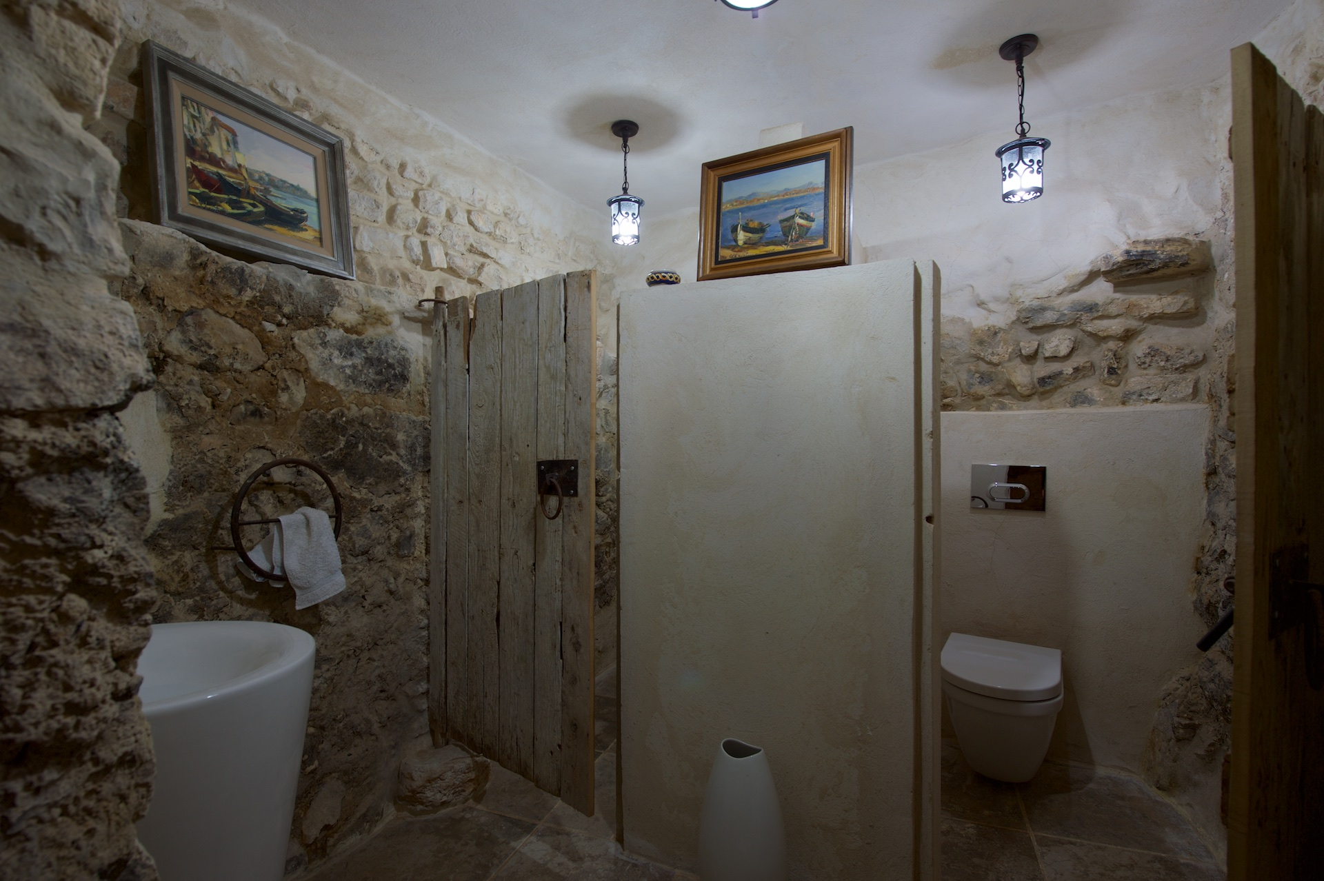 The rest-rooms