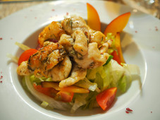 Salade Fattouch aux Crevettes.JPG