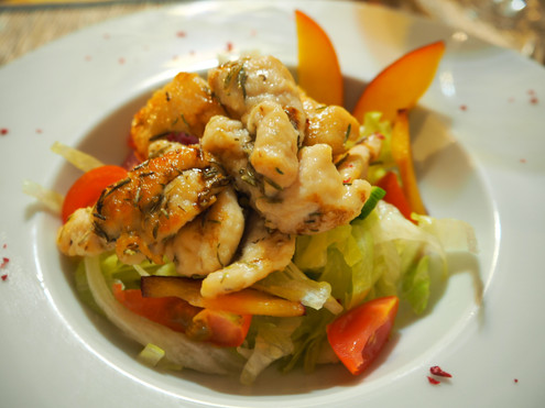Salade Fattouch aux Crevettes.JPG