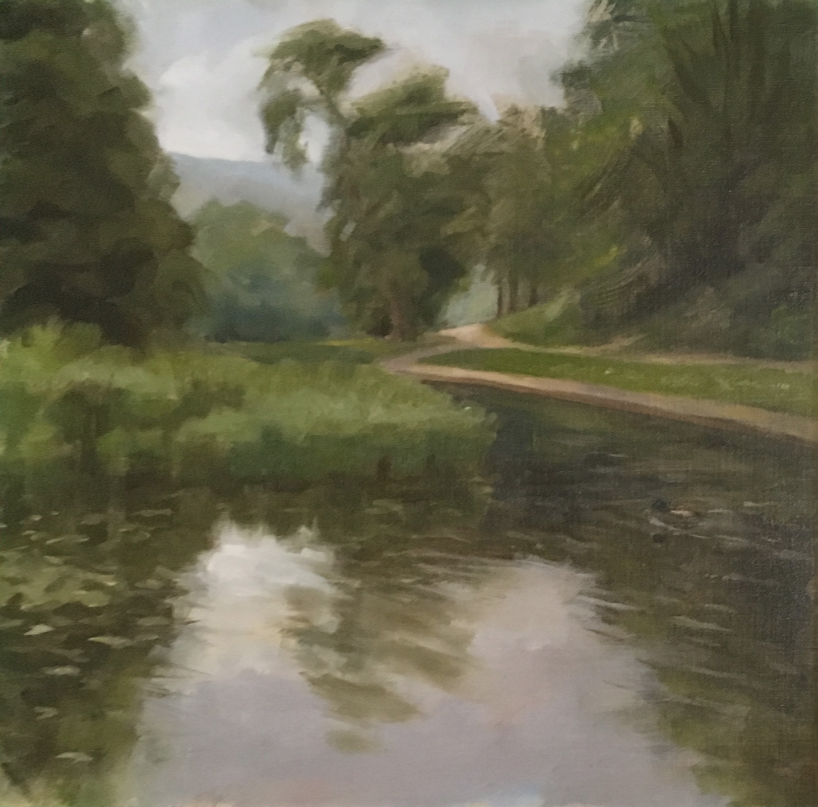 Ponds at Pontypool Park