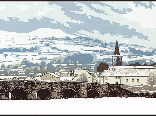 Snow Over Crickhowell