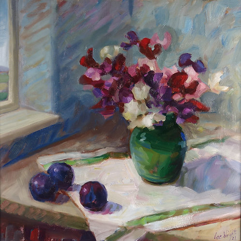 Sweet Peas and Plums