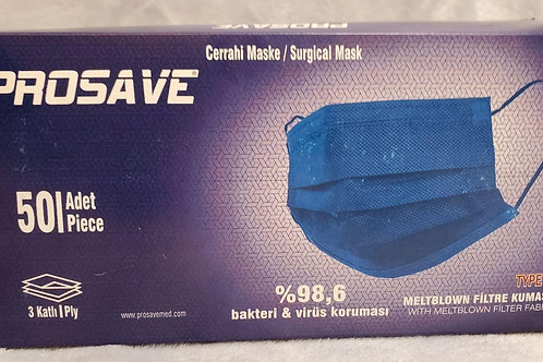 3-Ply Surgical Masks 50-pack