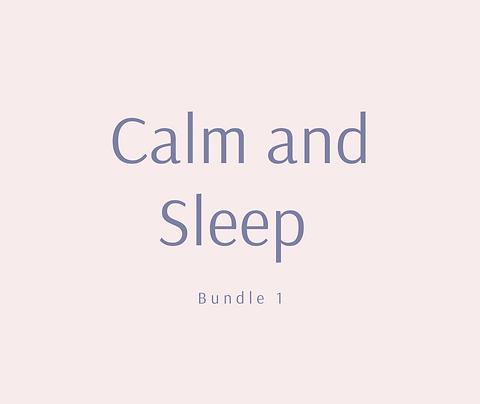 Calm and Sleep bundle