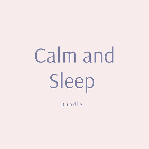 Calm and Sleep bundle