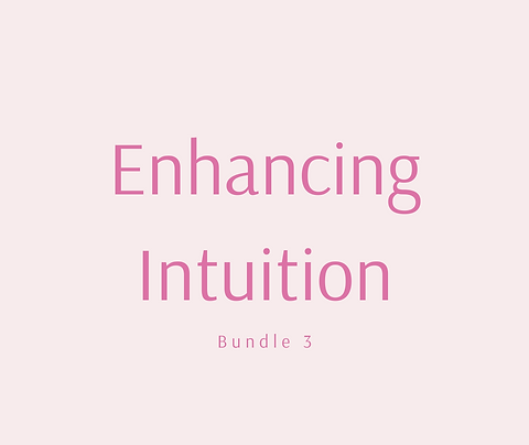 Enhancing Intuition Bundle