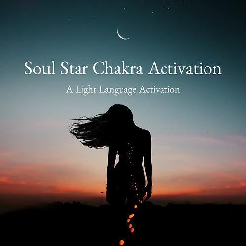 Soul Star Chakra Activation
