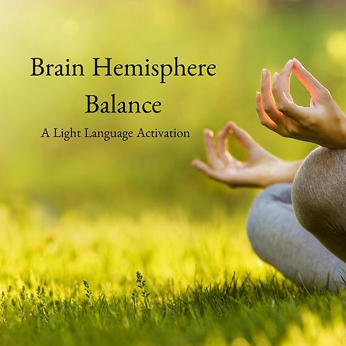 Brain Hemisphere Balance