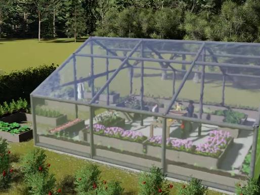 Nuevo Huerto en el SCC!  SCC's Living Lab & Greenhouse!