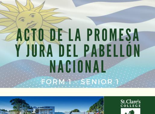 Promesa y Jura al Pabellón Nacional
