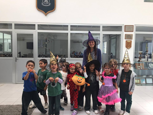 Halloween at St. Clare´s College