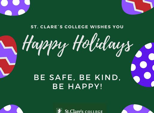 Felicidades! Happy Holidays!