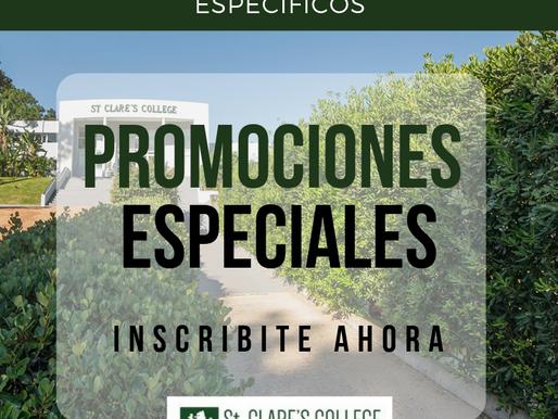 SCC te invita a conocer las promociones especiales!
