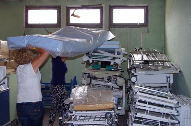 Préparation du container pour Diofior
