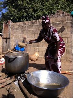 Préparation du repas  ouvriers