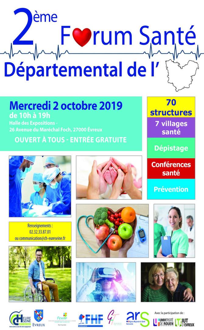 L'Akompani Diofior, présente au forum santé de l'Eure
