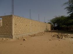 élévation des murs