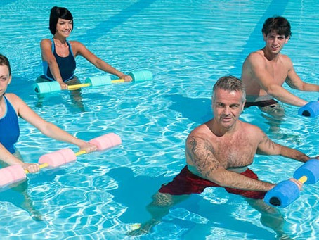 NEW Water Aerobics schedule for the SUMMER