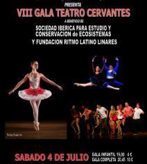 Presentes en la VIII Gala Teatro Cervantes con Ritmo Latino Linares