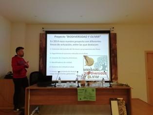 Participamos en la I Jornada de Conocimiento, Manejo y Divulgación. OLIVAR Y NATURALEZA.
